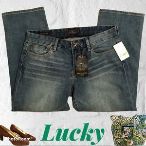 Lucky Brand Crop Jeans NWT